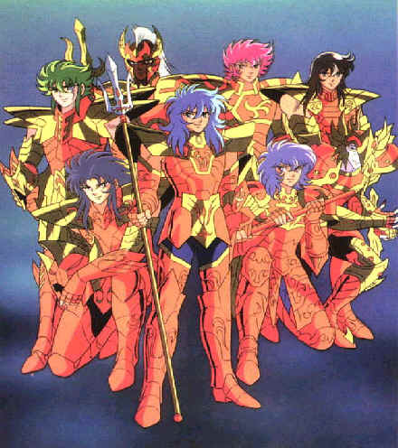 Cavalieri di nettuno for Cavalieri dello zodiaco da colorare